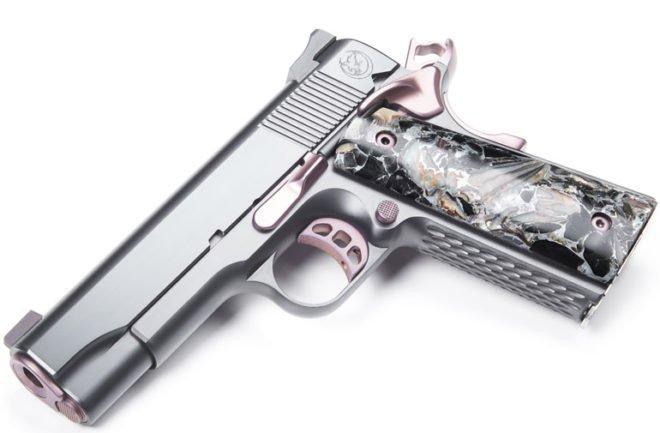 Nighthawk Customs Lady Hawk 2.0 9mm 1911 semi-auto pistol