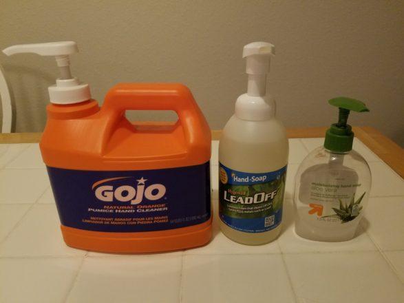 Hygenall LeadOff soap