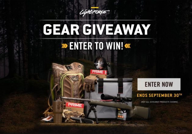 Prizes in the Hunting Essentials Giveaway total thousands of dollars in value.