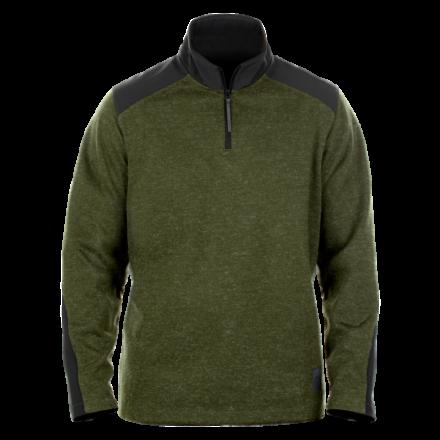 Zip Neck Commando Sweater