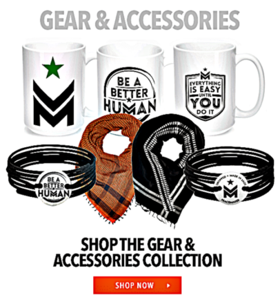 Image of CFF gear and accessories.