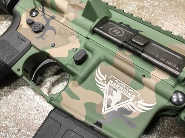 Image of Radical Firearms RF15 for Wishes for Warriors