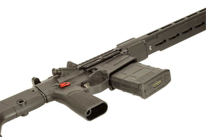 MSR10 Precision Rifle Laying View