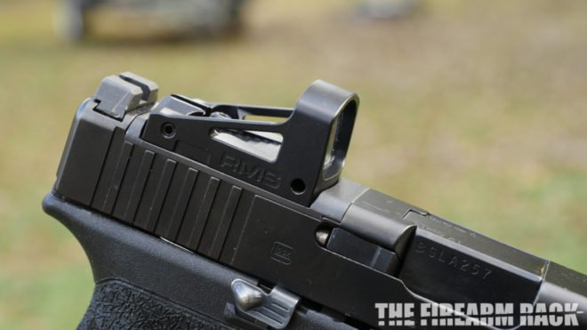 Shield RMS Sight Mounted on Glock